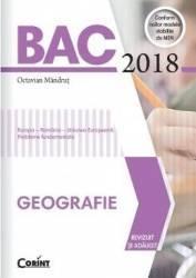 Bacalaureat 2018 Geografie - Octavian Mandrut