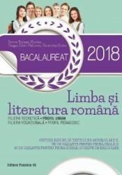 Bacalaureat 2018. Limba si literatura romana. Profil uman - Dorica Boltasu-Nicolae