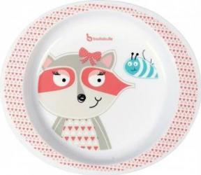 Farfurie pentru mancare Pink Racoon Cani, pahare, accesorii masa