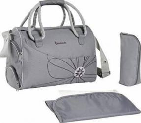 Geanta pentru scutece Bowling Bag Grey Genti pentru mamici