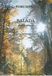 Balada si alte piese pentru vioara si pian - C. Porumbescu