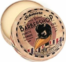 Crema de par Schmiere Barbershop Strong 140ml Crema, ceara, glossuri