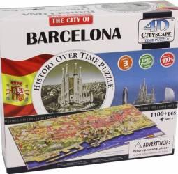 BARCELONA Puzzle 4D Cityscape Jucarii Interactive