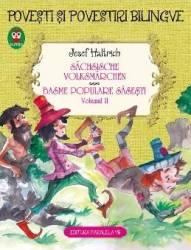 Basme populare sasesti vol.2. Sachsische Volksmarchen - Josef Haltrich