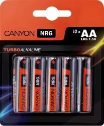 Baterie Canyon Alkaline AA ALKAA10 10buc Acumulatori Baterii Incarcatoare