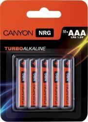 Baterie Canyon Alkaline AAA ALKAAA10 10buc Acumulatori Baterii Incarcatoare