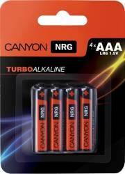 Baterie Canyon Alkaline AAA ALKAAA4 4buc