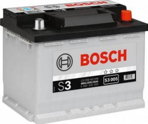 Baterie auto Bosch S3 56AH 480A borna normala Baterii auto