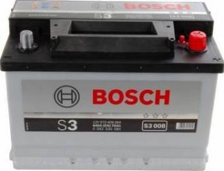Baterie auto Bosch S3 70AH 640A borna normala 190 Baterii auto
