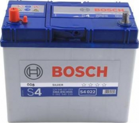 Baterie auto Bosch S4 45AH 330A borna inversa Asia Baterii auto