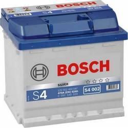 Baterie auto Bosch S4 52AH 470A borna normala Baterii auto