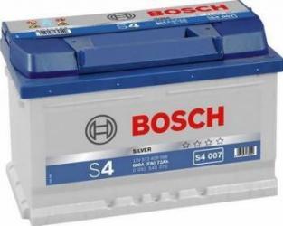 Baterie auto Bosch S4 72AH 680A borna normala Baterii auto