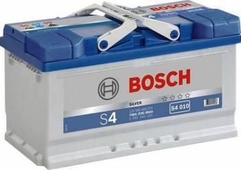 Baterie auto Bosch S4 80AH 740A borna normala Baterii auto