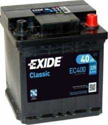 Baterie auto Exide Classic 40AH 320A borna normala Baterii auto