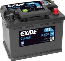 Baterie auto Exide Classic 55AH 460A borna normala Baterii auto