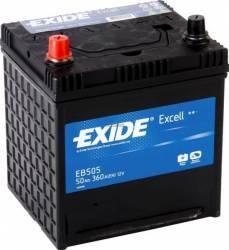 Baterie auto Exide Excell 50AH 360A borna inversa Baterii auto