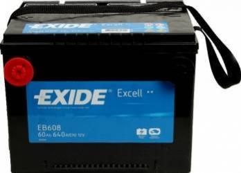 Baterie auto Exide Excell 60AH 640A borna inversa Baterii auto