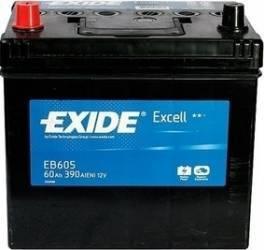 Baterie auto Exide Excell 60AH 390A borna inversa Baterii auto