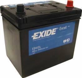 Baterie auto Exide Excell 60AH 390A borna normala Baterii auto