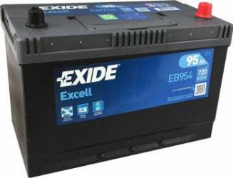 Baterie auto Exide Excell 95AH 720A borna normala Asia Baterii auto