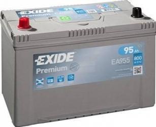 Baterie auto Exide Premium 95AH 800A borna inversa Asia Baterii auto