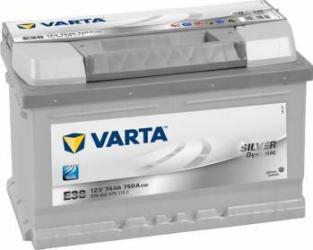 Baterie auto Varta Silver Dynamic 74AH 750A borna normala Baterii auto