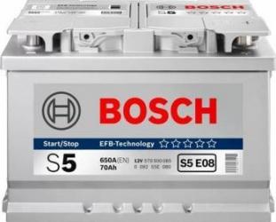 Baterie BOSCH 12V 65AH 650A 0092S4E070 Baterii auto