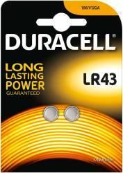 Baterie Duracell 2x LR43 1.5V Acumulatori Baterii Incarcatoare
