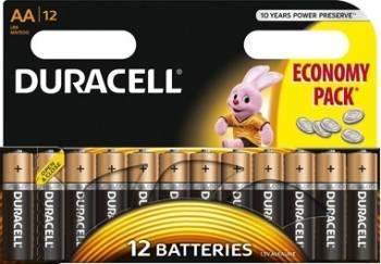 Baterie Duracell Basic AA LR06 12buc Acumulatori Baterii Incarcatoare