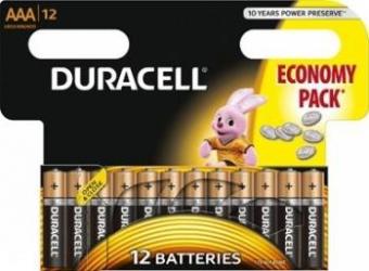 Baterie Duracell Basic AAA LR03 12buc Acumulatori Baterii Incarcatoare
