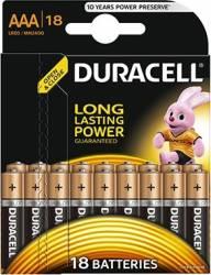 Baterie Duracell Basic AAA LR03 18buc Acumulatori Baterii Incarcatoare