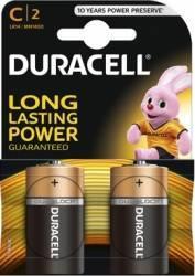 Baterie Duracell Basic C LR14 2buc Acumulatori Baterii Incarcatoare