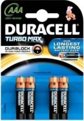 Baterie Duracell Turbo Max AAA LR03 4 buc