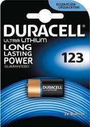 Baterie Duracell Ultra 123 3V 1buc Acumulatori Baterii Incarcatoare