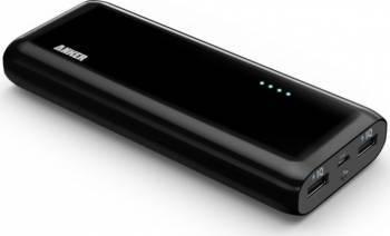 Baterie externa Anker Astro E4 2nd Gen 13000 mAh 2 porturi USB Negru Baterii Externe