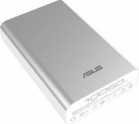 Baterie externa Asus ZenPower 10050 mAh Argintie Baterii Externe