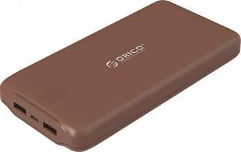 Baterie Externa Orico LD200 20000 mAh Maro Baterii Externe