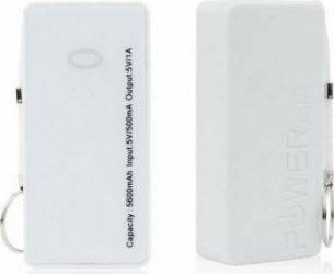 Baterie externa POWER BANK ST-508 5000 mah Alba