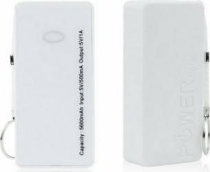 Baterie externa POWER BANK ST-508 5000 mah Alba