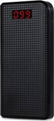 Baterie Externa Proda Power Bank USB 3.1 30000mAh Negru Baterii Externe