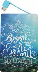 Baterie Externa Star Brighter When You Smile Micro USB 2500mAh Baterii Externe