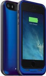 Baterie Externa Tip Husa Mophie 1700 mAh iPhone 5-5S Albastra Baterii Externe