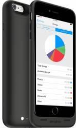 Baterie Externa Tip Husa Mophie 2600 mAh + memorie 32GB iPhone 6 Plus Neagra Baterii Externe