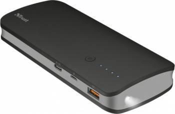 Baterie Externa Trust Omni Ultra Fast 10000mAh USB-C Negru Baterii Externe