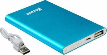 Baterie externa Vakoss Aluminiu 5000mAh Albastru