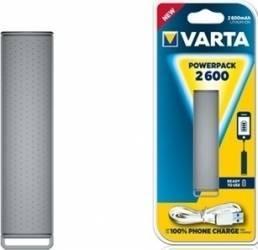 Baterie externa Varta Powerpack 2600mAh Grey