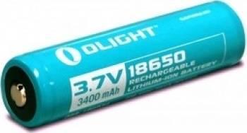 Baterie Olight 3.7V 3400mAh 18650 cu protectie