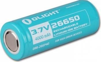 Baterie Olight 3.7V 4000mAh 26650 R40 S80