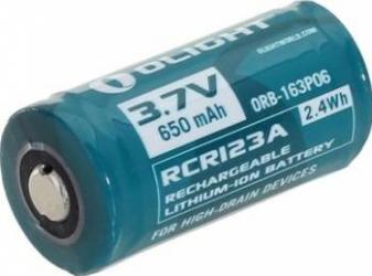 Acumulator Olight RCR123A 16340 Li-ion 3.7V 650mAh
