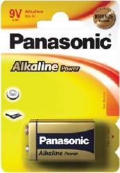 Baterie Panasonic 6LR61APB-1BP 9V 1buc Acumulatori Baterii Incarcatoare